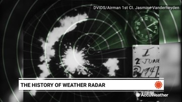 A look back at the history of weather radars