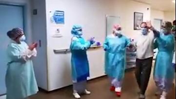 94-year-old woman beats coronavirus