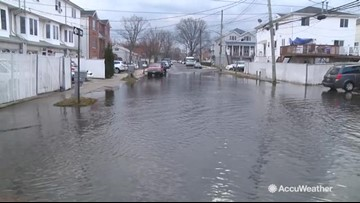Autumn rain adds to street flooding concerns