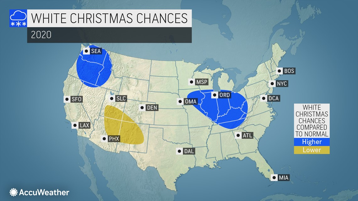 What are the chances for a stormy Thanksgiving and white Christmas