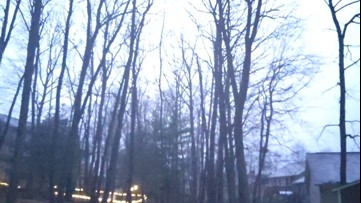 Thunderstorms rumble through Pennsylvania