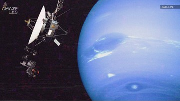 30 Years Ago, Voyager 2 Made The First-Ever Neptune Flyby