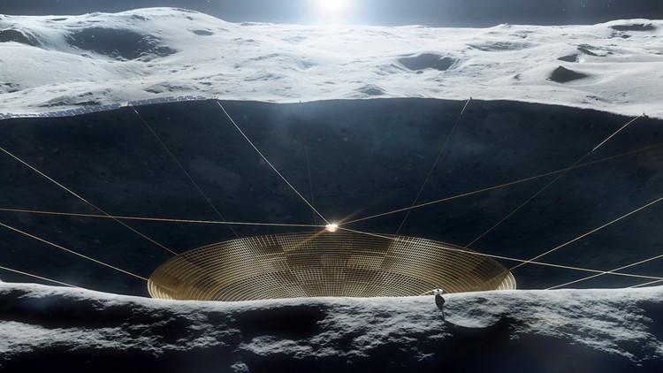 NASA to Build a Massive, Arecibo-Like Radio Dish on the Moon