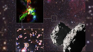 Building Block Vital For Life on Earth Discovered in Star-Forming Region