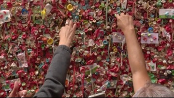 This Giant Wall of Gum Has Become One of Seattle's Biggest Tourist Attractions