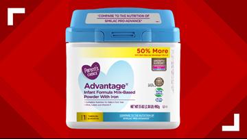 Baby formula powder sold at Walmart recalled because it may contain metal