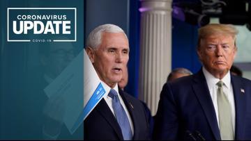 WATCH LIVE: White House Coronavirus Task Force giving update