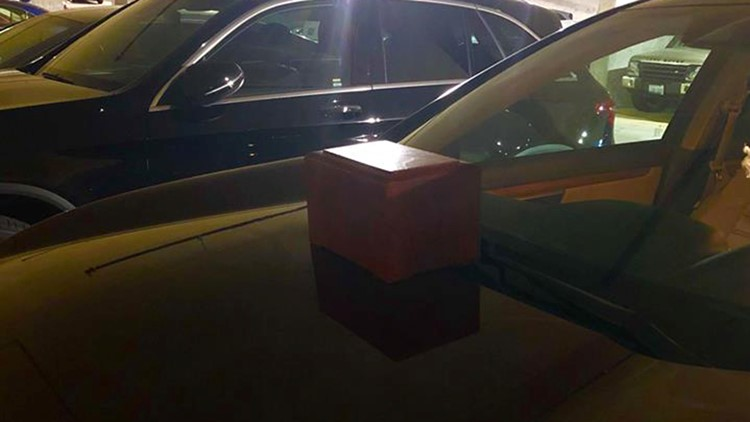 Mysterious box of ashes left on Seattle woman's car