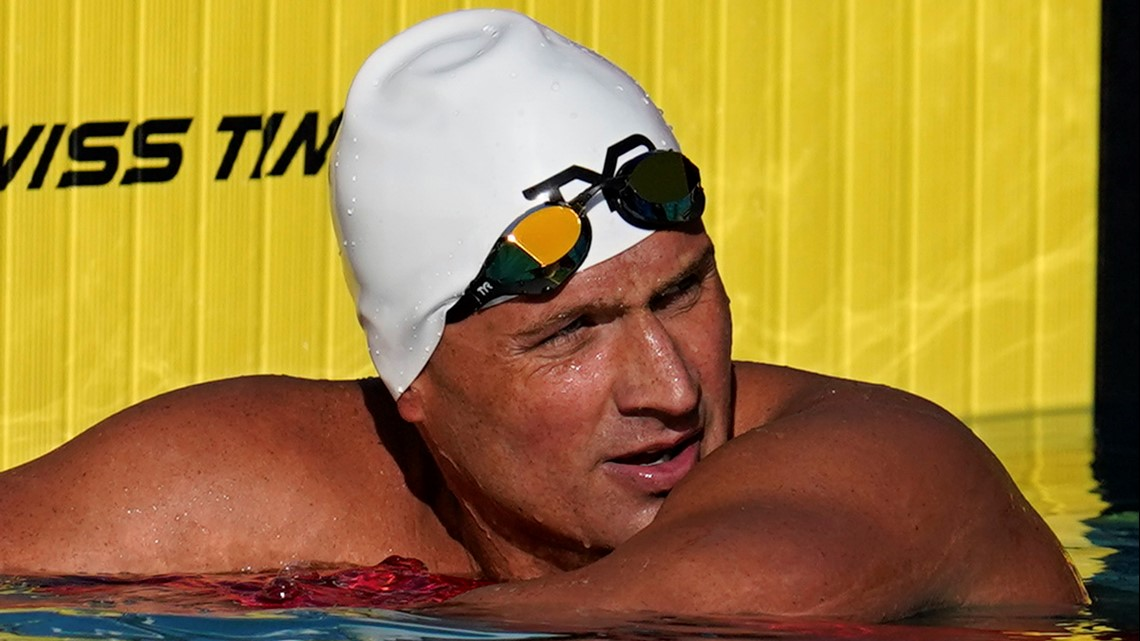 Ryan Lochte takes aim at 5th Olympics as swimming trials start Sunday