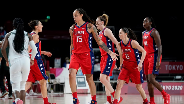 US women's basketball beats Nigeria, extends Olympic win streak to 50