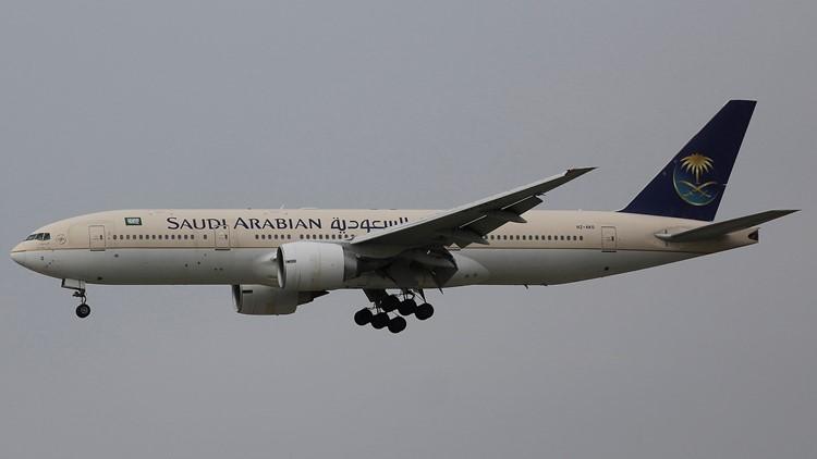 Saudi Ariabian Saudia airline