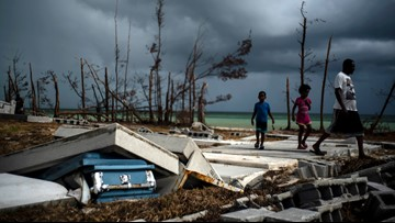 Tropical storm warning discontinued in Bahamas