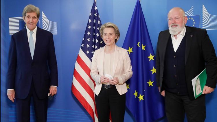 EU reaches major climate deal ahead of Biden climate summit