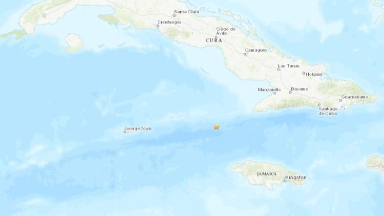 Earthquake Jamaica cuba Jan 28 2020 USGS