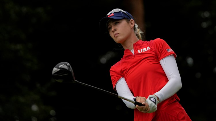 Nelly Korda gives US gold medal sweep in golf