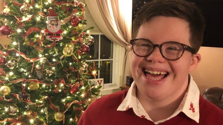 Jake Manning Christmas photo