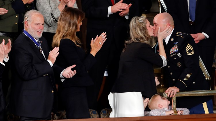 NC family surprised by military homecoming during State of the Union speech