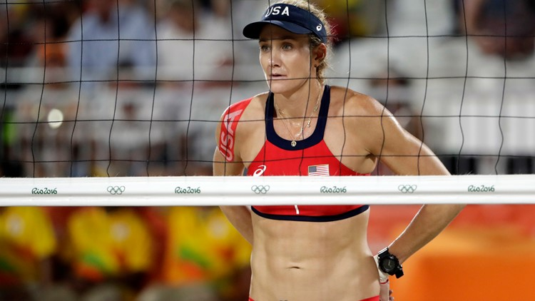 Why Olympic beach volleyball players wear small bikinis