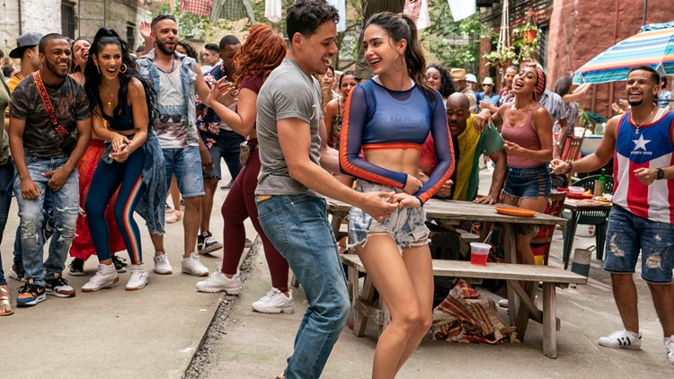 'In the Heights' makes muted debut, edged by 'A Quiet Place'