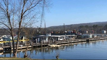 4 children among the 8 killed in deadly dock fire in Alabama
