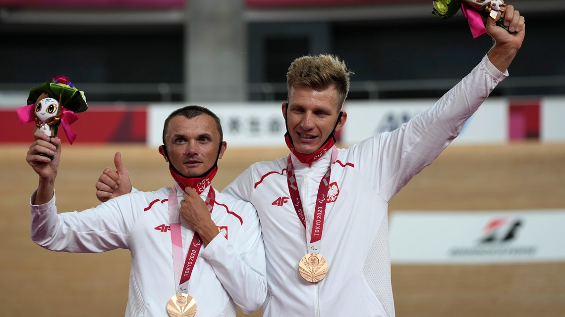 Paralympics cycling medalist tests positive for doping
