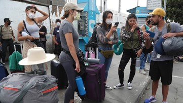 US tourists stranded abroad don't know when they'll return
