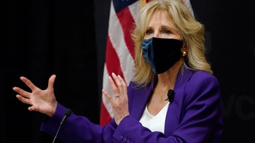 Jill Biden helps honor women from 15 countries for courage
