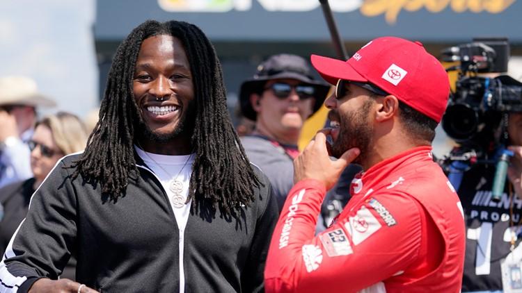 All-Pro Alvin Kamara now advising NASCAR on growing fan base