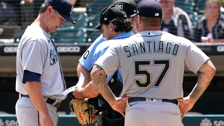 Mariners pitcher is first ejected for foreign substances under crackdown