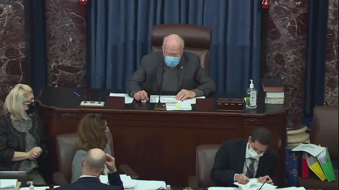 Senate passes Biden's $1.9 trillion Covid-19 relief bill
