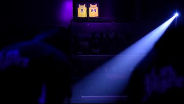 Lakers' first game since Kobe's death an emotional scene at Staples Center