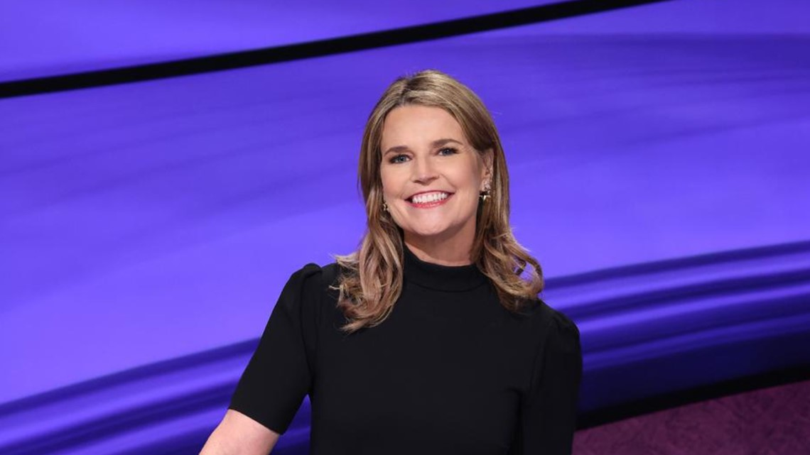 Savannah Guthrie on hosting 'Jeopardy!' | It's a different animal