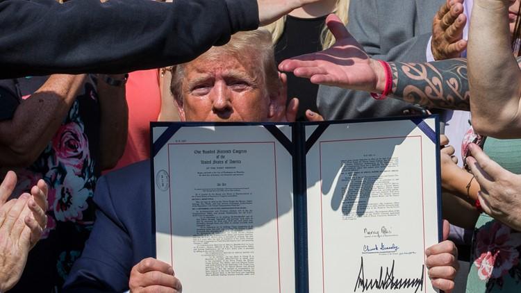 Trump Sept 11 bill signing