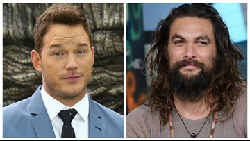 Chris Pratt was holding a plastic water bottle. Jason Momoa called him out
