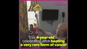 4-year-old survives cancer battle