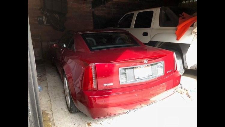 Peter Pyros Cadillac In Garage