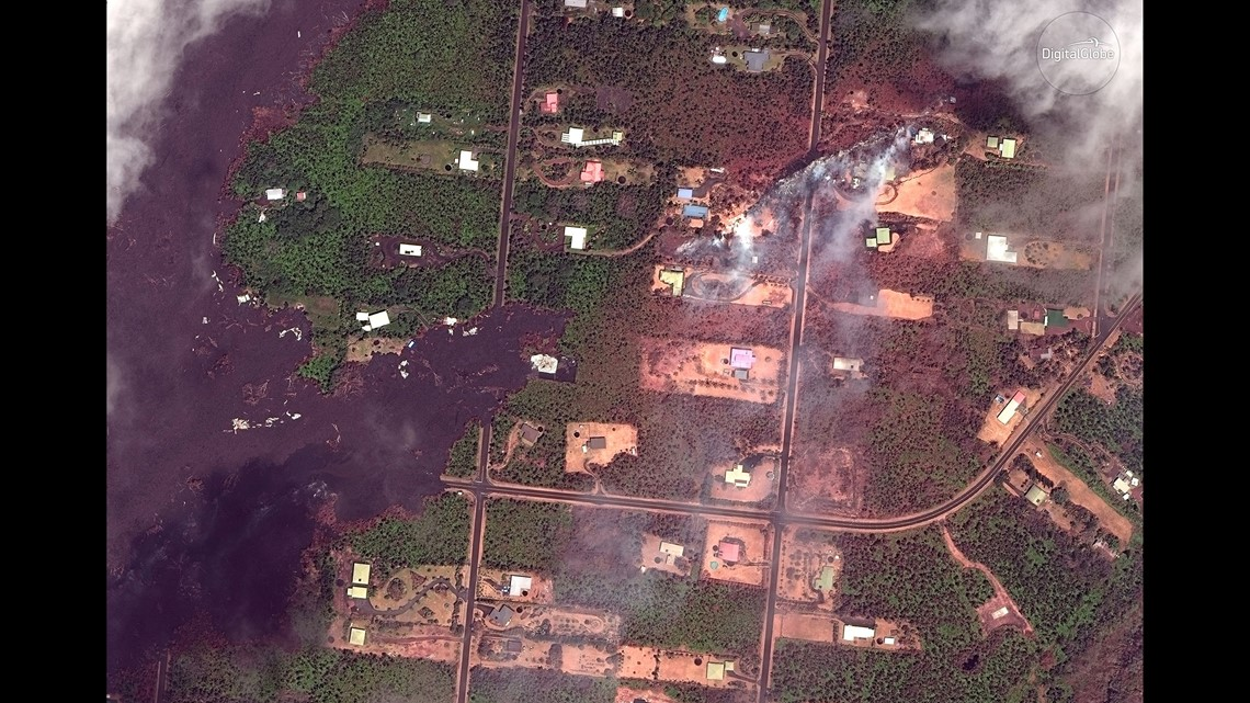 Before And After Satellite Images Show Devastation Of The