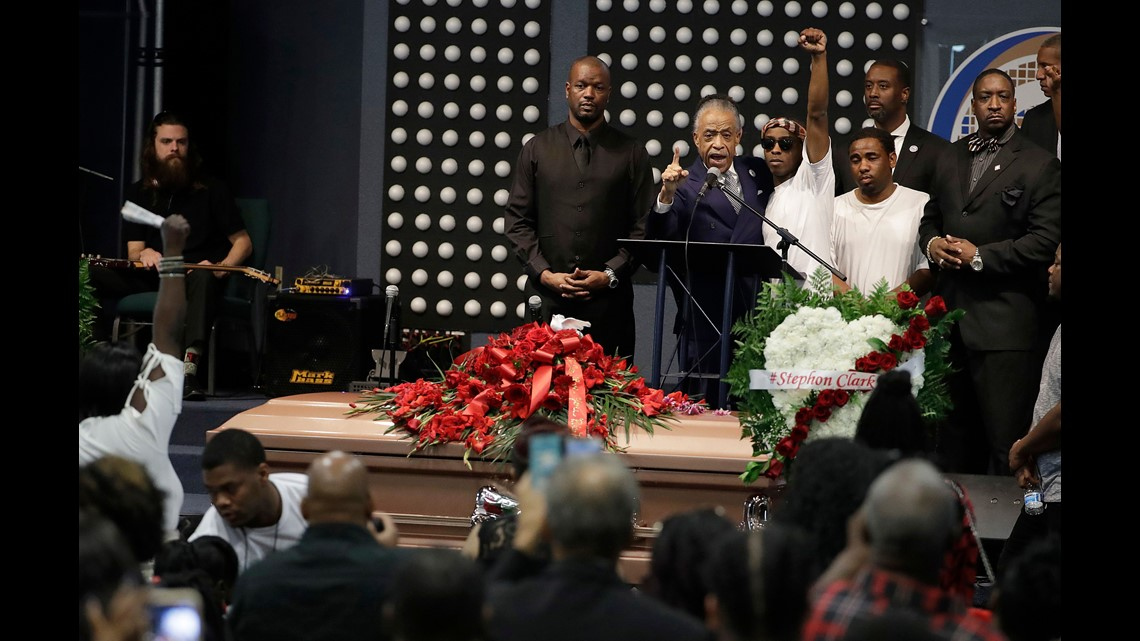 Not A Local Matter Al Sharpton At Funeral For Stephon Clark