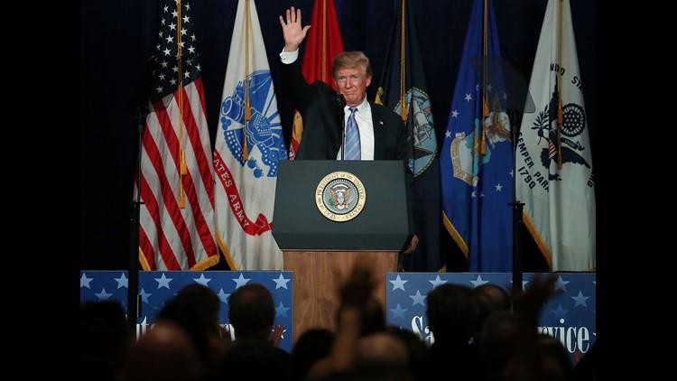 President Trump speaks in West Virginia