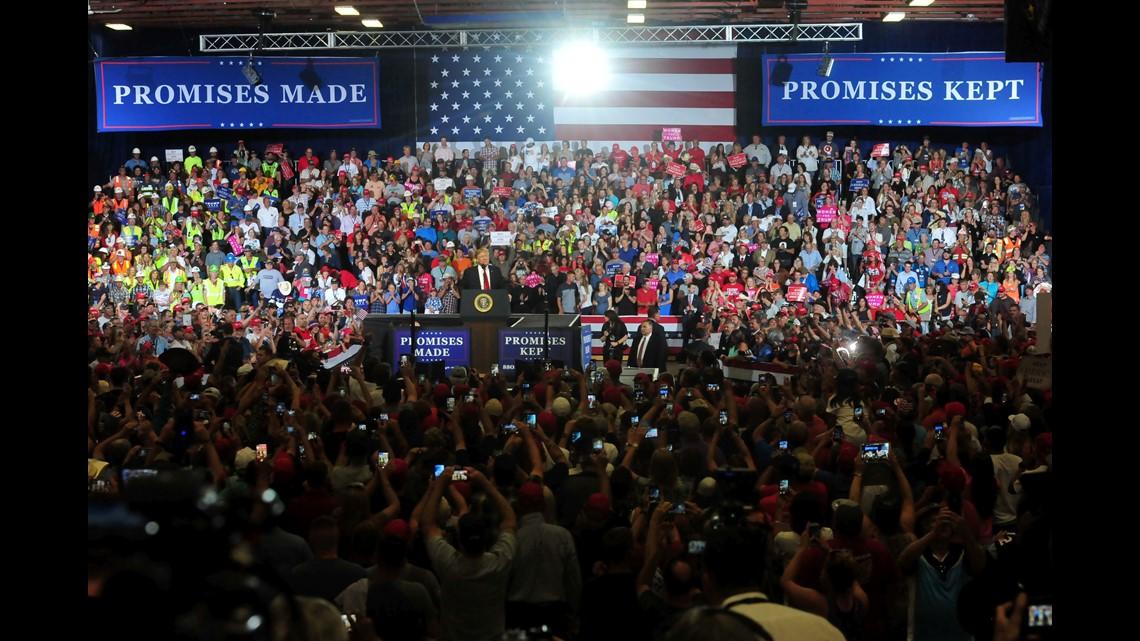 All Seasons Driving School >> wcnc.com | Trump mocks Sen. Warren, '#MeToo generation' in speech at Montana rally