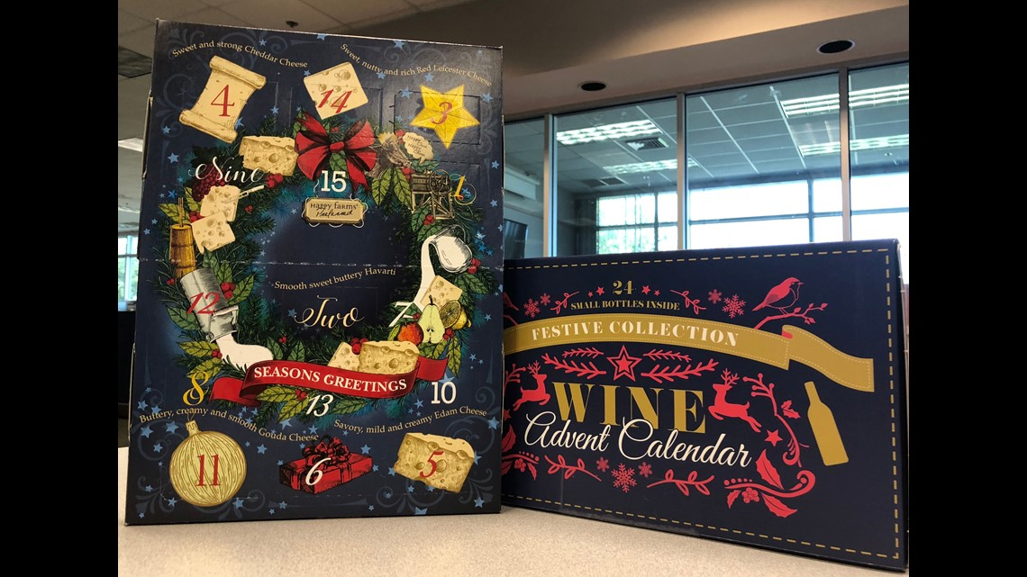 Aldi wine Advent calendar sells out in stores, but pops up on eBay – for a hefty price | wcnc.com