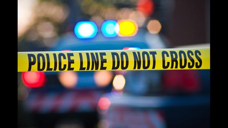 Police Tape Stock Photo
