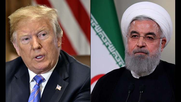 Iran's Hassan Rouhani hits out at US sanctions as 'psychological warfare'