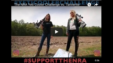 This Yeti ain't ready:' NRA fans blow up Yeti coolers in