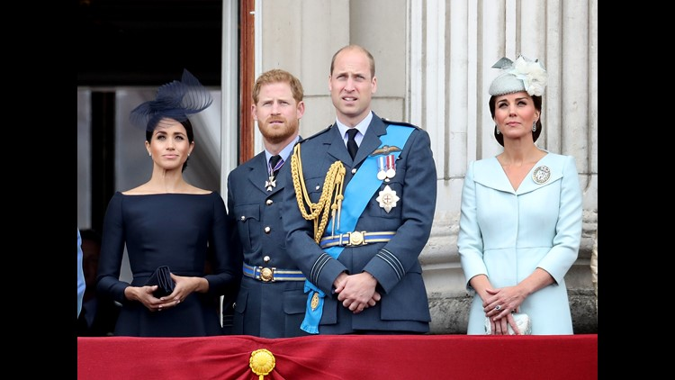 Royals join RAF celebrations at Westminster Abbey