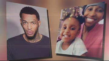 $1M bail set for man charged with killing missing girl's mom