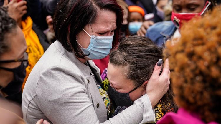 10 miles apart: George Floyd's girlfriend was Daunte Wright's former teacher, relative says