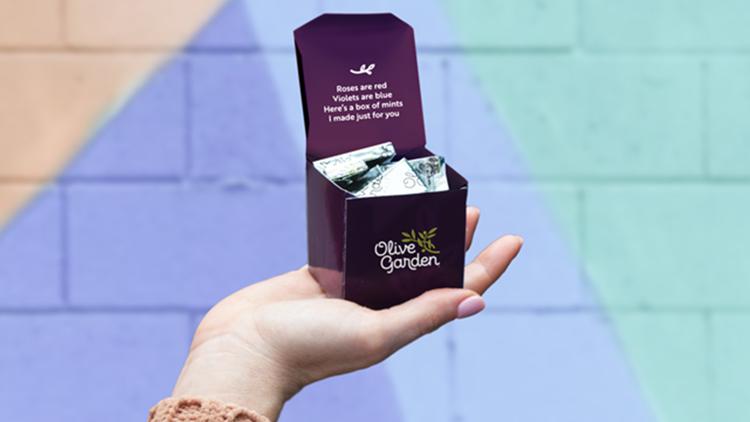 Olive Garden chocolate