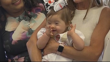 Baby born in Chick-fil-A bathroom celebrates first birthday