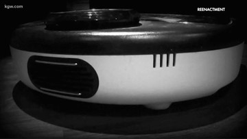 'All of us started laughing': Burglar turns out to be Roomba vacuum